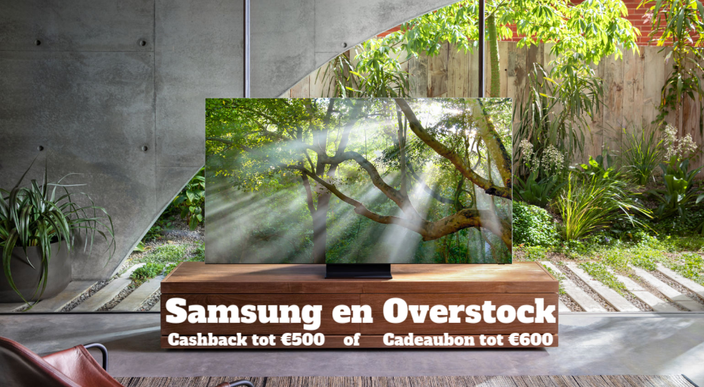 Samsung en Overstock